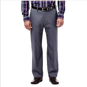 NWT Haggar Expandomatic Stretch Heather Dress Pant